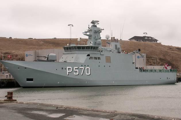 덴마크 해군은 북극을 보호하기 위해 세 번째 Knud Rasmussen 급 배를 주문했습니다.