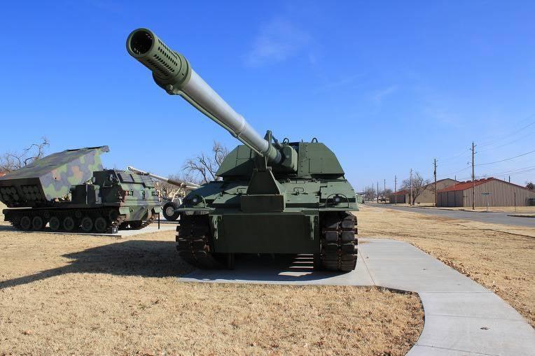 "Artillería autopropulsada ""Cruzada"". Proyecto XM2001 Crusader (USA)"