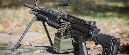 FN company presented an updated version of the machine gun MINIMI
