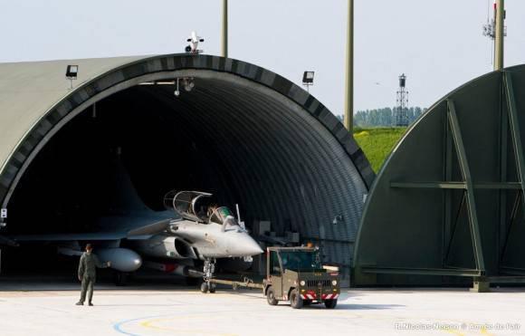 フランス空軍は定期的な核操作を開催しました