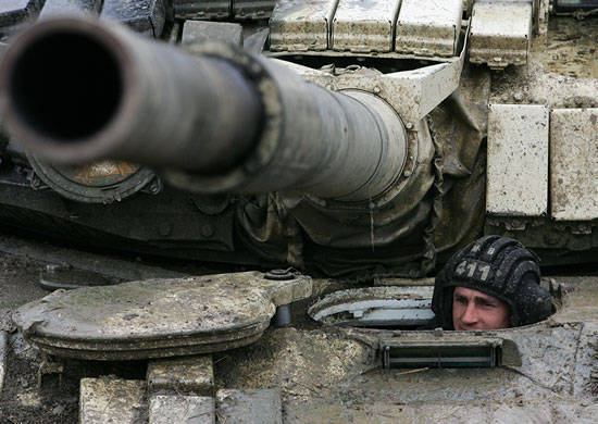 The exercise of motorized rifle units of the Russian military base began in Abkhazia