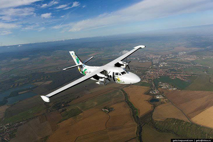 Come rendere l'aereo L-410 nella Repubblica Ceca