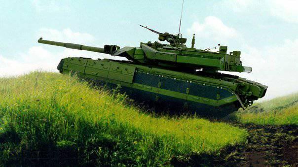 """मुख्य युद्धक टैंक T-84-120 """"यतागन"""""""