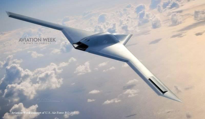 В прессу просочилась информация о новом американском беспилотнике RQ-180