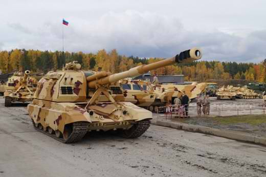 """21st century Russian self-propelled gun """"Coalition-SV"""" will be the best in the world"""
