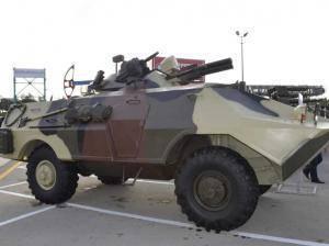В Азербайджане начались испытания новой бронированной разведывательно-боевой машины
