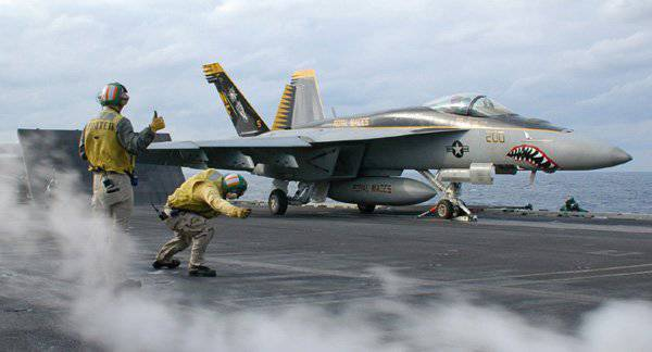 Deck Fighter-bomber F / A-18
