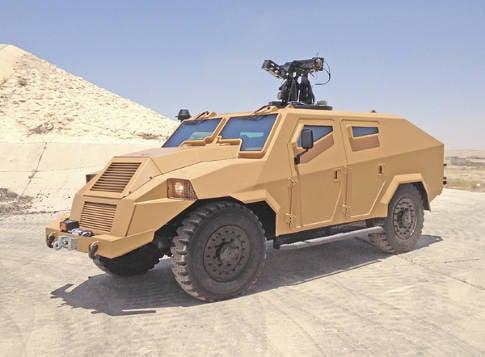चुनौती II - KADDB द्वारा विकसित सशस्त्र बलों के लिए एक मौलिक नई बख्तरबंद कार