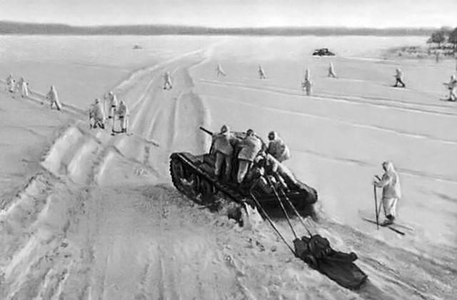 """General Frost"", cavalaria e reservas perto de Moscou"