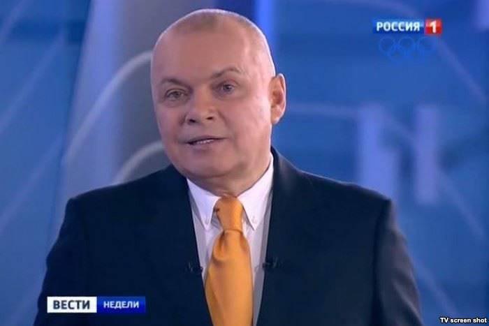 यूक्रेन में घटनाओं पर दिमित्री Kiselev की अक्षम्य गलती
