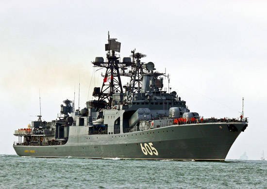 In the Russian Navy, the best submarines, ships, military units, tactical groups and formations are identified.