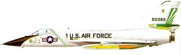 """Avcı-önleyici F-106 ve Su-15 """"Gökyüzünün bekçileri"""""""