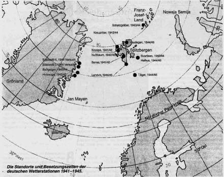 Арктический метеоспецназ третьего рейха