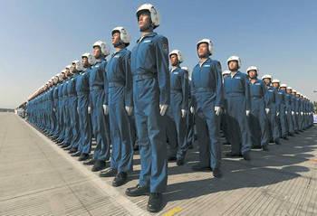 中国は空の覇権のために戦っています