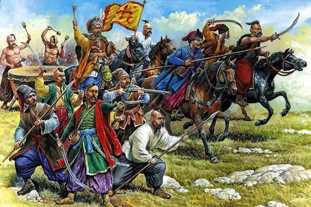 Como Ucrania recién nacida en el siglo XVII, buscaba su lugar en Europa y lo que vino de ella.
