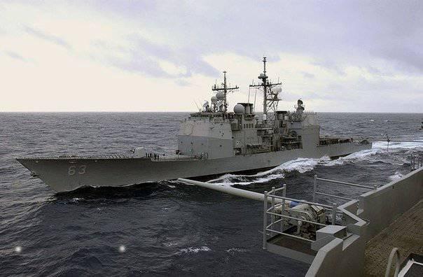 ABD ve Çin'in savaş gemileri Güney Çin Denizi'nde neredeyse çarpıştı