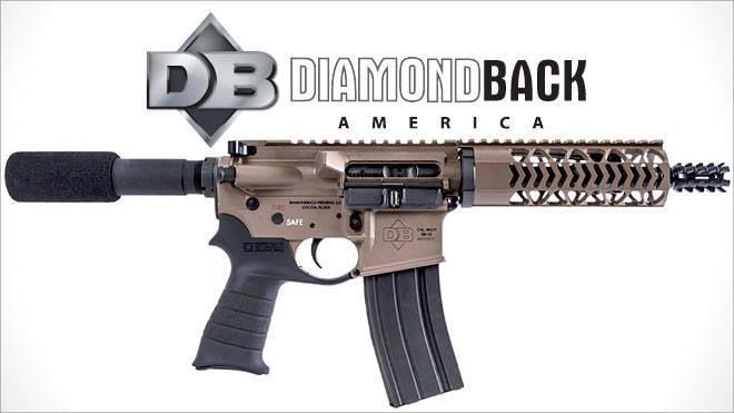 Version pistolet de la carabine Diamondback Firearms DB15