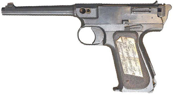 Erfahrene Pistolen Vojvodina probieren 1939 des Jahres
