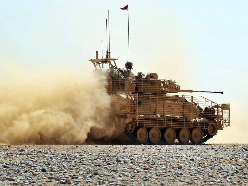 İngiliz Ordusu'nun zırhlı araçları için modernizasyon programları