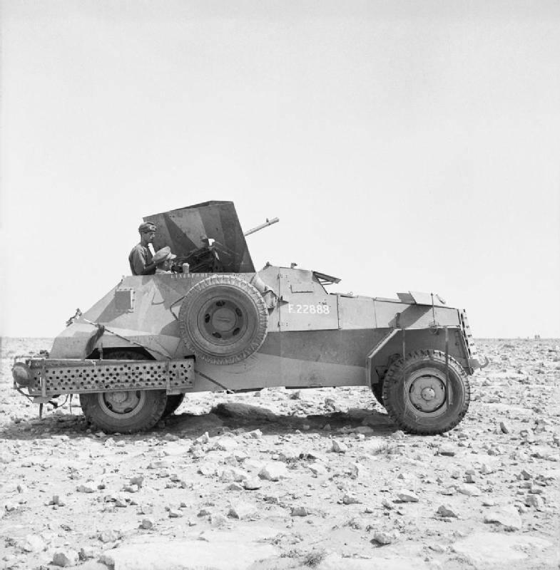 Vehículos blindados sudafricanos Marmon-Herrington Mk.I - Mk.-IV