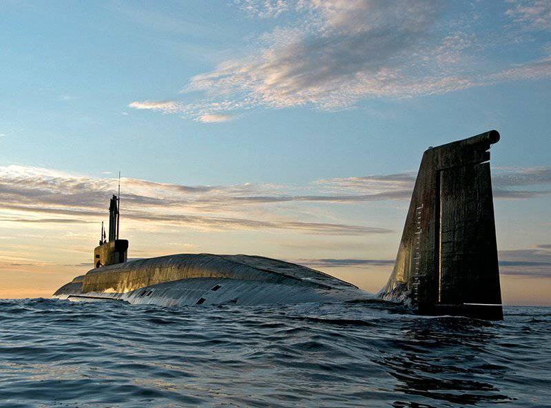"""Un monde sans héros. 955 """"Borey"""" transporteurs de missiles sous-marins"""