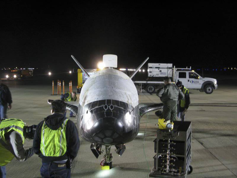 American drone X-37B has been in orbit for over a year.