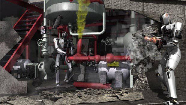 El inicio del camino de los robots andantes.