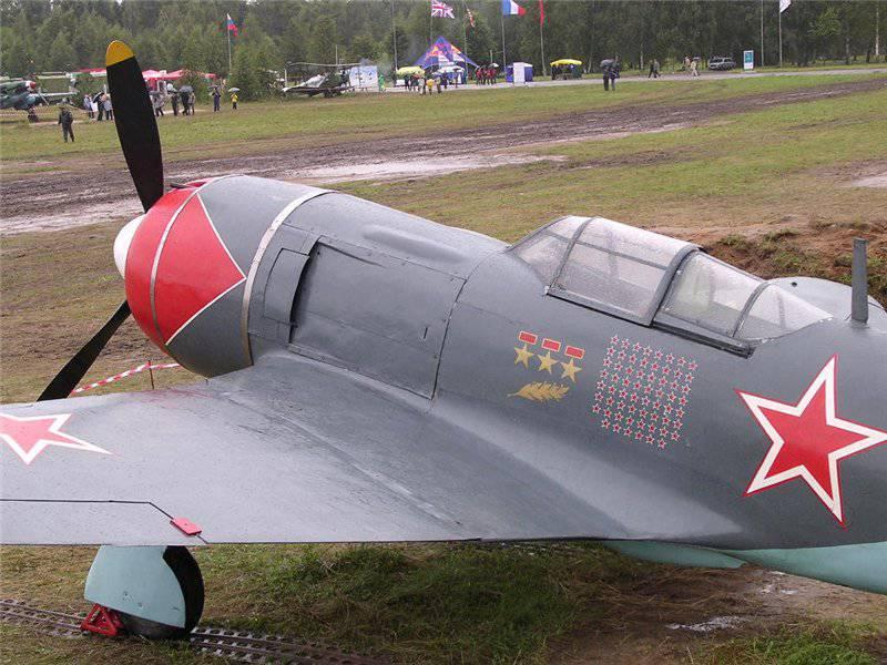 """""""Standard 1944 des Jahres"""" La-7"""