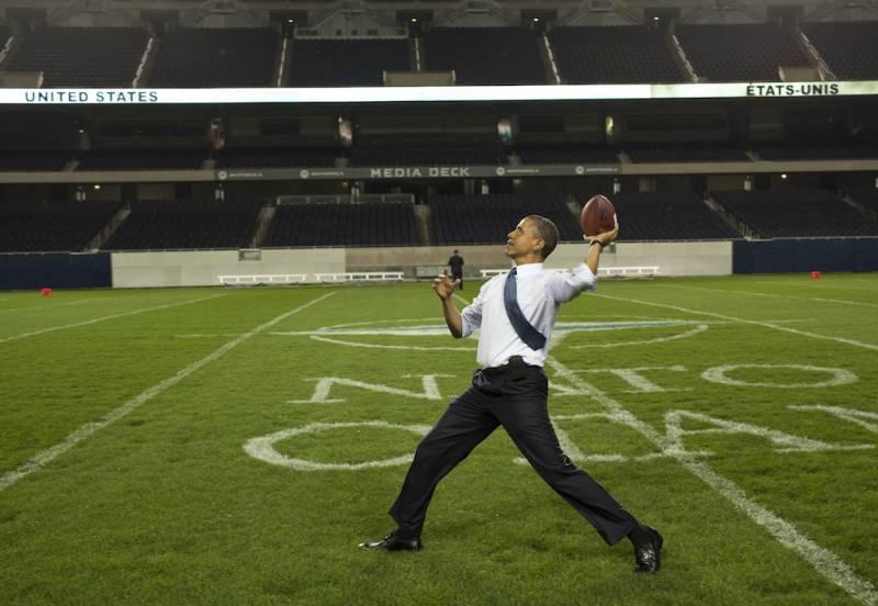 B.H. Obama en tant que président déchu