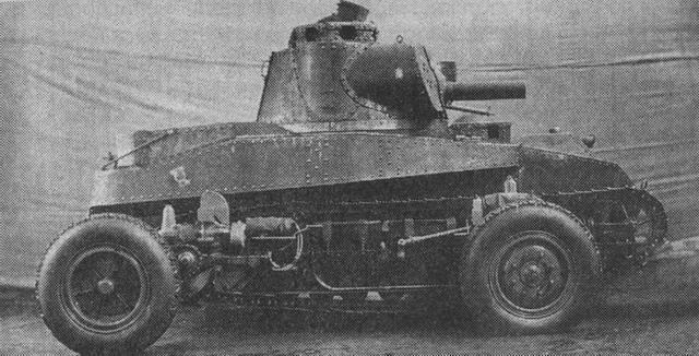 I primi carri armati della Svezia. Parte I