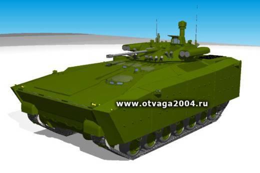 """""""Kurganmashzavod"""" ha iniziato a fare BMP """"Kurganets-25"""" per la parata 9 Maggio 2015 dell'anno"""