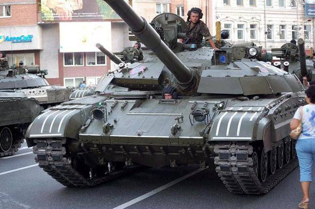 """""""Ukroboronservis"""" is preparing to bring to the international market the tank T-64"""