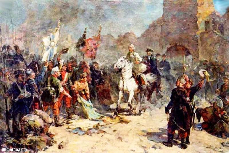 12月24  - ロシアの軍事栄光の日。 トルコの要塞イシュマエルの捕獲の日