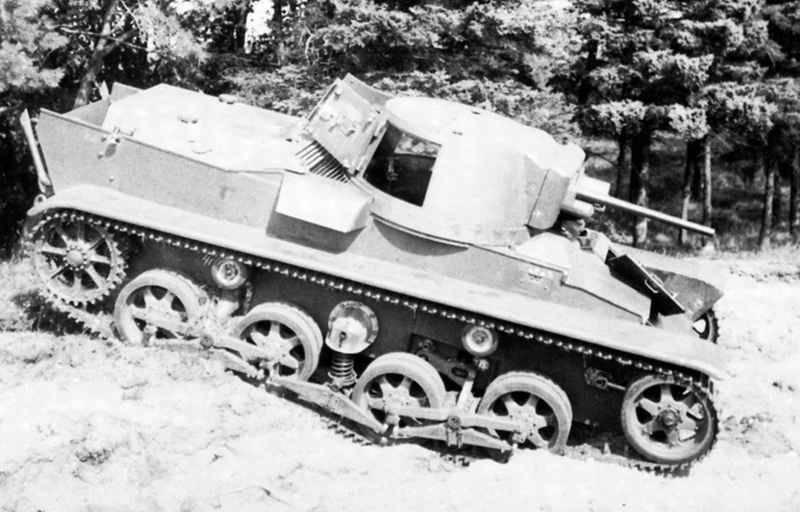 Os primeiros tanques da Suécia. Parte II