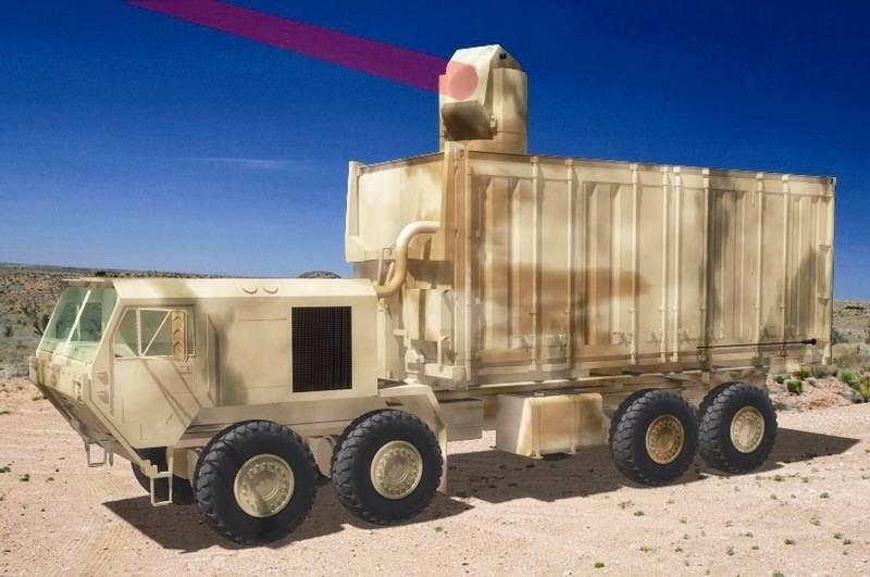 Die USA bereiten eine neue Generation von Laserwaffen vor