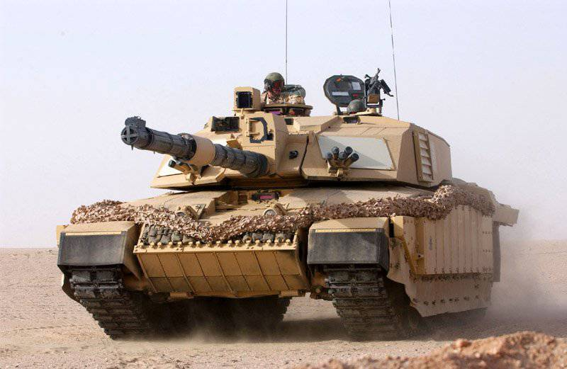The UK is open to upgrading options for the Challenger 2 tank.