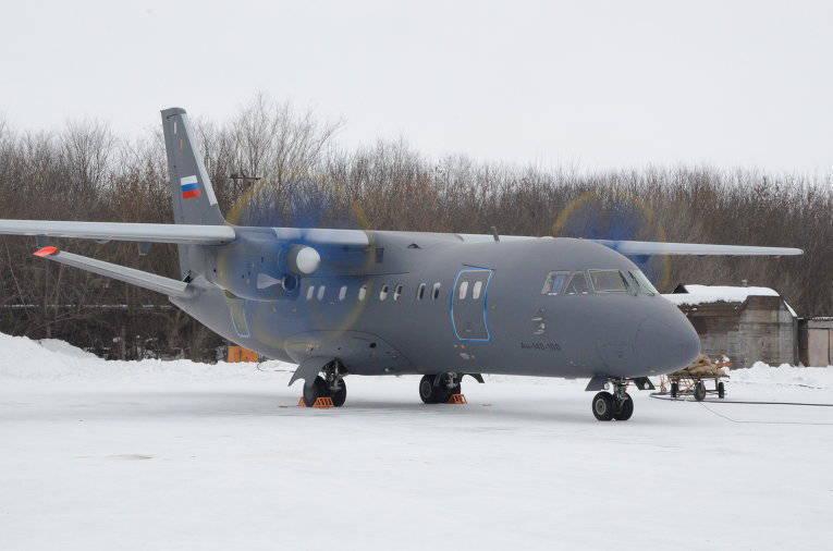 रूसी नौसेना के लिए दूसरे An-140 में स्थानांतरित