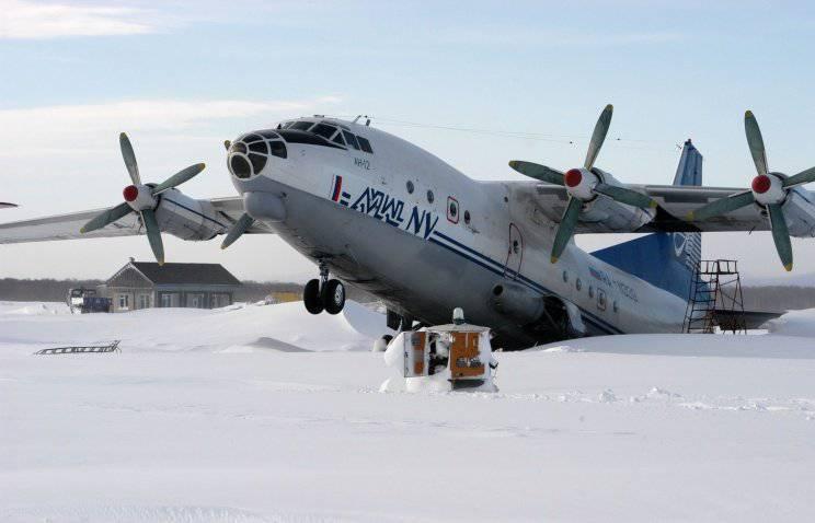 이르쿠츠크 근처에서 추락 한 An-12