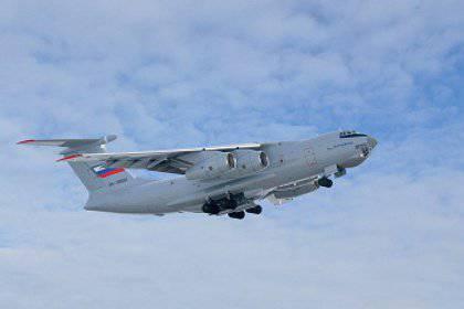 2014의 러시아 공군은 두 대의 IL-76 항공기를 수령 할 예정입니다.