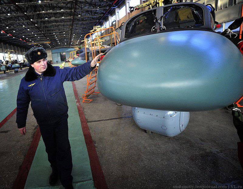 The Ministry of Defense received a batch of new Ka-52 combat helicopters from Primorye