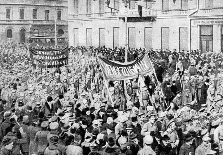 Англия против России. Организация Февральского переворота