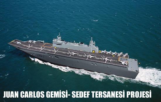 Juan Carlos私は普遍的な着陸船のためのトルコの入札で選びました
