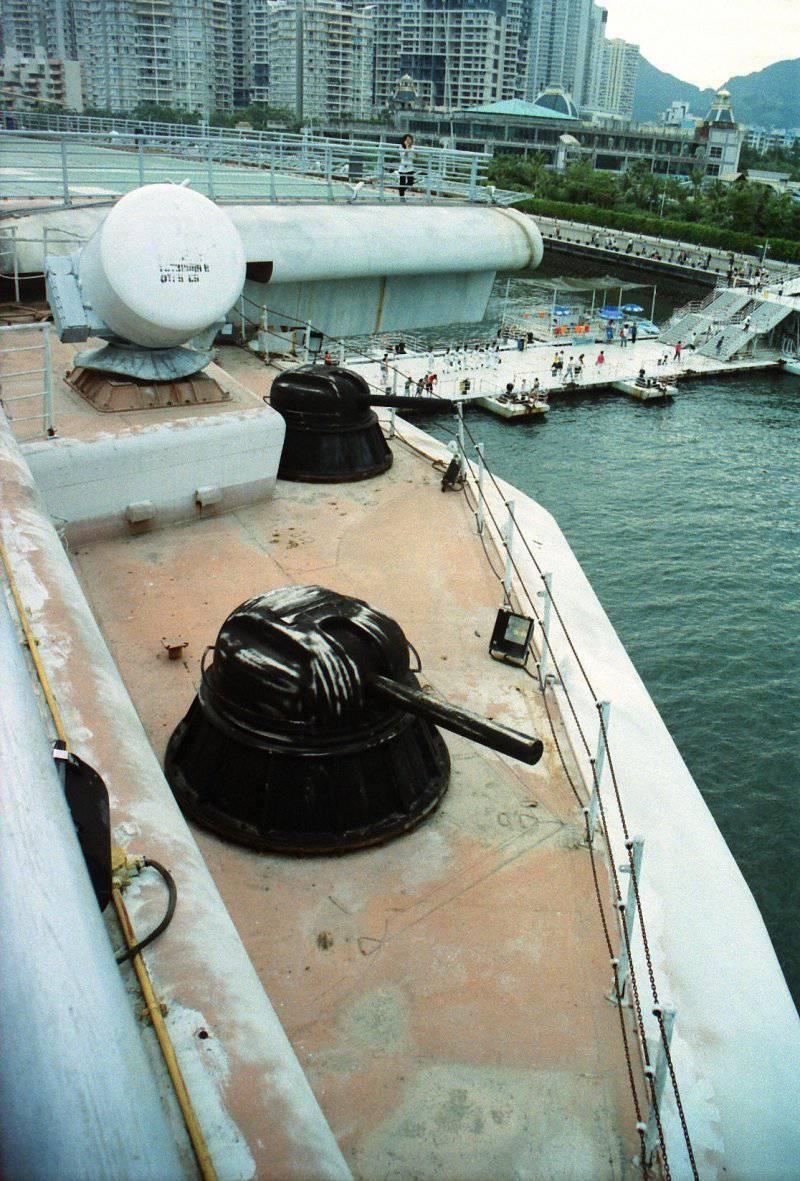 Советские авианесущие крейсеры в Китае