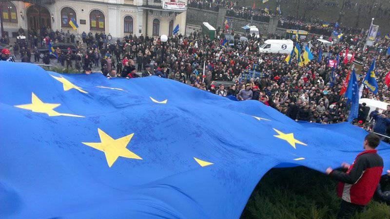 Еврокомиссары и ненька Украина