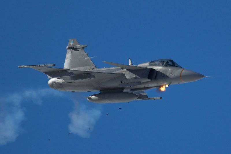 Шведские истребители войдут в состав Сил реагирования НАТО