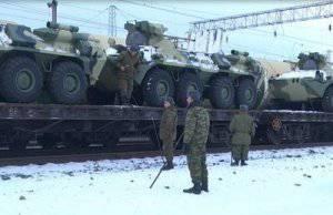 Самарские мотострелки получили новые бронетранспортеры