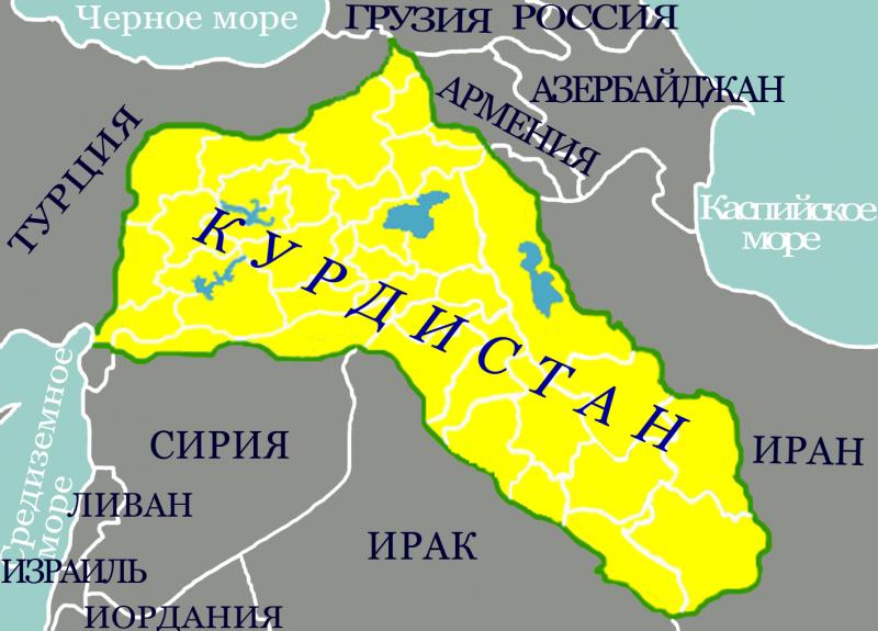 Курды превращаются в силу, которая может повлиять на ближневосточную политическую ситуацию