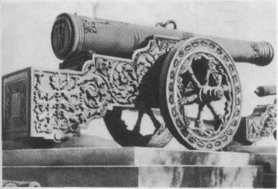 История Царь-пушки и старинных пушек в Москве