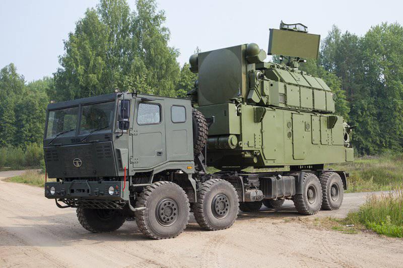 Новейшая разработка ОАО «Концерн ПВО «Алмаз-Антей» и ОАО «ИЭМЗ «Купол» в системе противовоздушной обороны