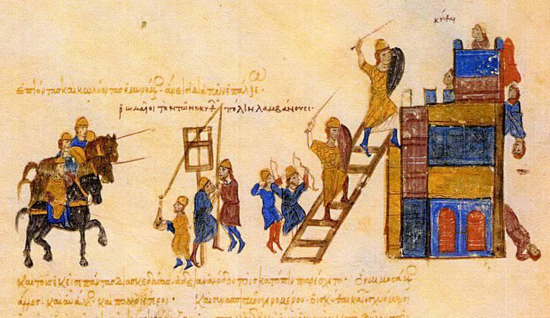 Guerra Sviatoslav con Bisanzio. Battaglia per Preslav e l'eroica difesa di Dorostol